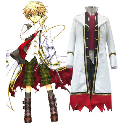 Pandora Hearts Oz Vessalius With Over Coat Cosplay Kostüm