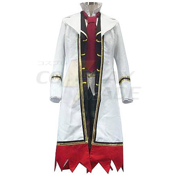 Pandora Hearts Oz Vessalius With Over Coat Cosplay Costume