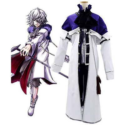 Pandora Hearts Xerxes Break Cosplay Costume Halloween