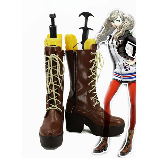 Persona 5 Anne Takamaki Cosplay Shoes Boot Halloween