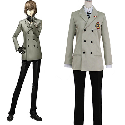 Persona 5 Akethi Gorou Outfit Cosplay Costumes Halloween