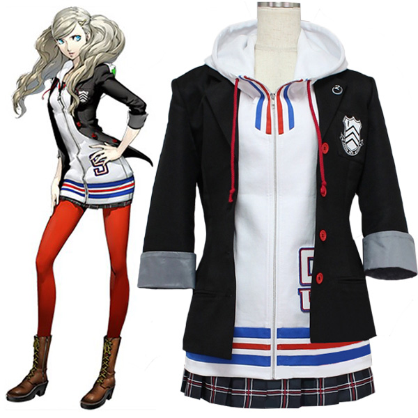 Persona 5 Ann Takamaki Outfit Cosplay Costumes Halloween