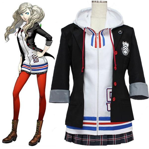Disfraces Persona 5 Ann Takamaki Traje Cosplay Halloween