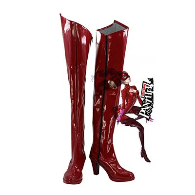 Persona 5 Anne Takamaki Panther Cos Cosplay Schuhe Stiefel