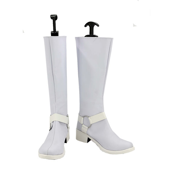Zapatos Persona 5 Kitagawa Yuusuke White Cosplay Botas