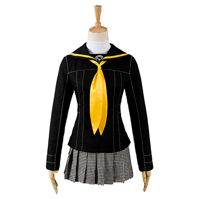 Shin Megami Tensei Persona 4 P4 School Girl Uniform Anime Cosplay Costume