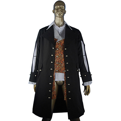Pirate Kostyme Pirates of the Caribbean Hector Barbossa Cosplay Kostyme