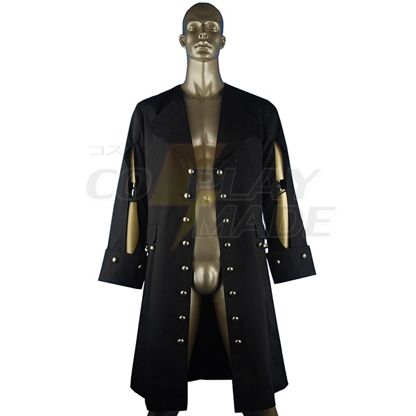 Costumi Pirate Pirates of the Caribbean Hector Barbossa Cosplay