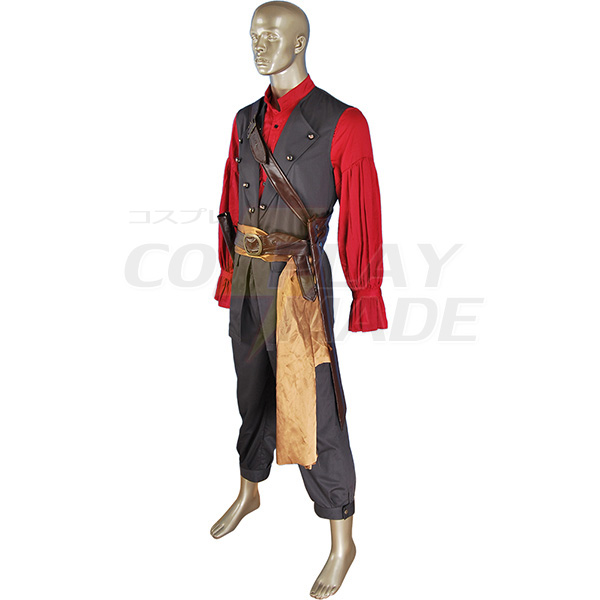 Costumi Pirates Of The Caribbean POTC Captain William Turner Pirate Cosplay