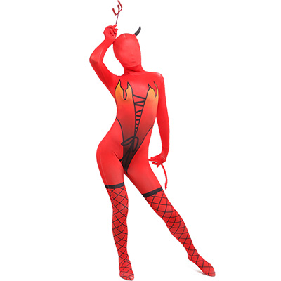 Costumi Pocket Monster Vestito Lycra Spandex Pettinato Zentai