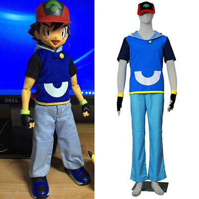 Pocket Monsters AG Satomi Cosplay Jelmez Halloween