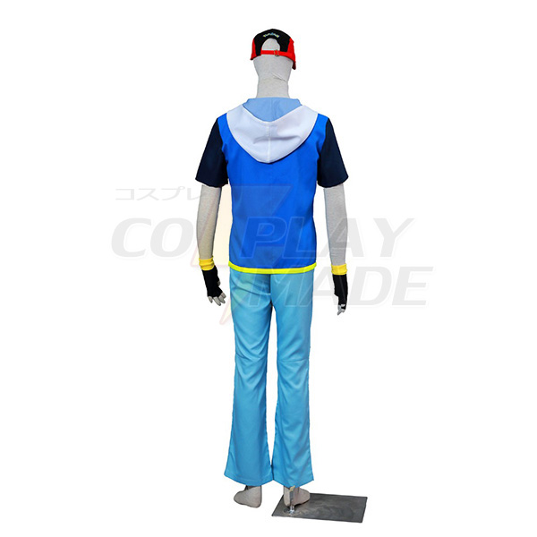 Pocket Monsters AG Satomi Cosplay Costumes Halloween
