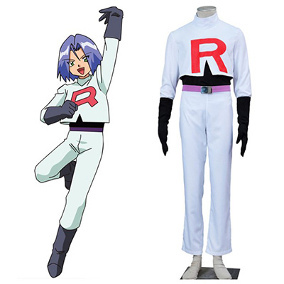 Pocket Monsters Kojiro James Cosplay Costumes Halloween