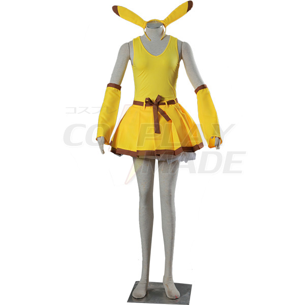 Disfraces Pocket Monsters Pikachu Cosplay Halloween