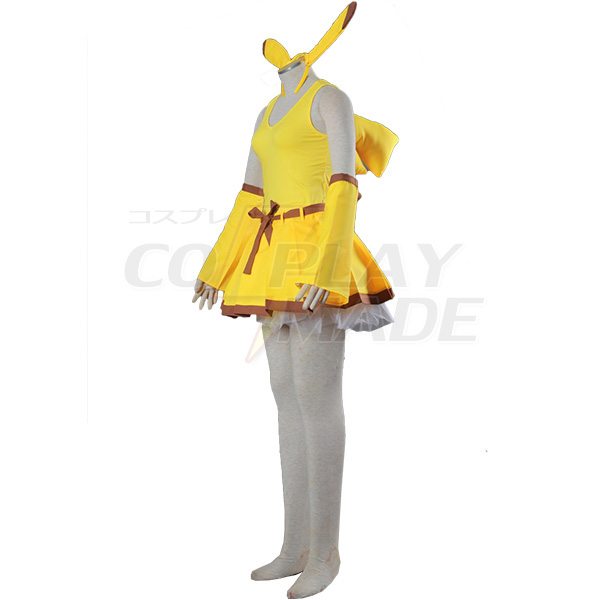 Costumi Pocket Monsters Pikachu Cosplay Halloween
