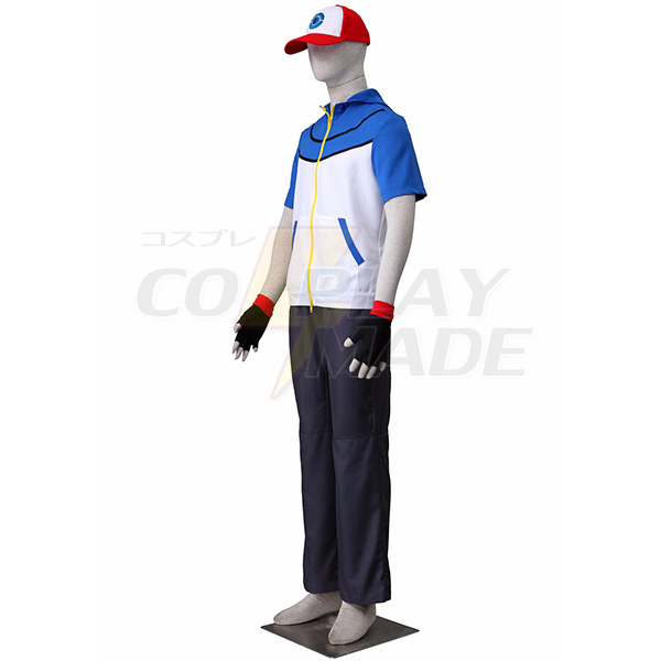 Pocket Monsters Satomi Cosplay Costume Halloween