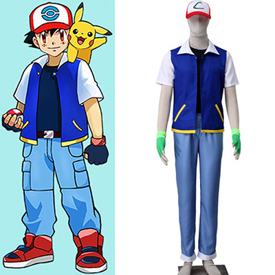 Pocket Monsters Satomi Cosplay Costume Outfit Halloween