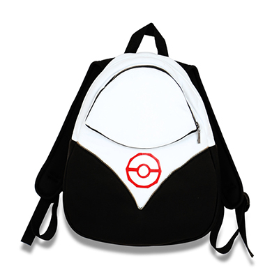 Pokemon Go Backpack PokeBall Väska Team Valor Instinct Mystic Röd Pocke Halloween