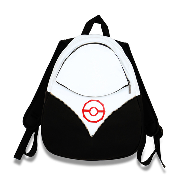 Halloween Pokemon Go Backpack PokeBall Bag Team Valor Instinct Mystic Red Pocke