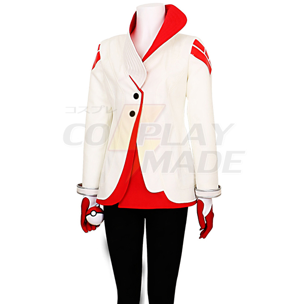Disfraces Pokemon Go Candela Uniforme Team Valor Team Leader Cosplay