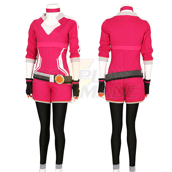 Pokemon Go Trainer Hoodie Rose Team Valor Instinct Mystic Cosplay Costume