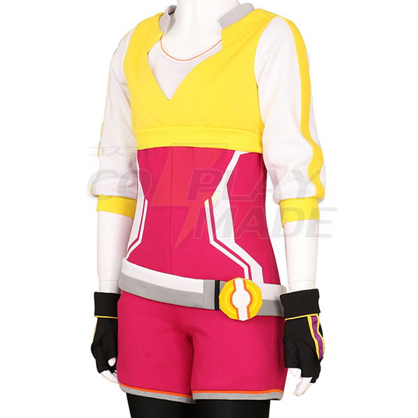 Costumi Pokemon Go Trainer Felpa con Cappuccio Rose Team Valor Instinct Mystic Cosplay Halloween