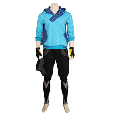 Halloween Pokemon Go Trainer Hoodie For Mens Cosplay Costume Valor