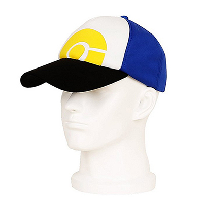 Halloween Pokemon Go Hat PokeBall Baseball Team Mystic Instinct Valor Blå
