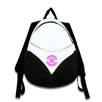 Pokemon Go Backpack PokeBall Bag Team Valor Instinct Mystic Fekete