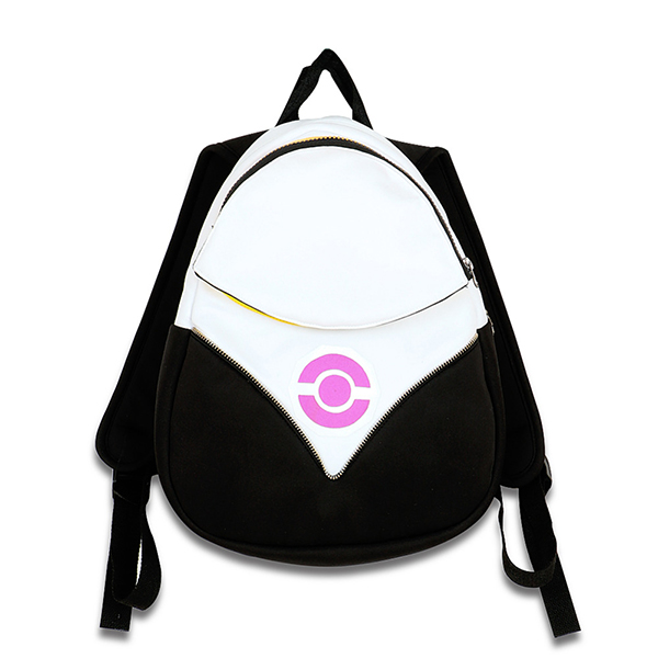 Pokemon Go Backpack PokeBall Borsa Team Valor Instinct Mystic Nero