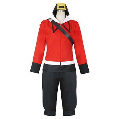 Pokemon Go Heart Gold and Soul Silver Boy Uniform Cosplay Costume
