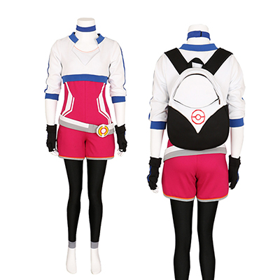 Women's Pokemon Go Trainer Team Valor Instinct Mystic Cosplay Costume