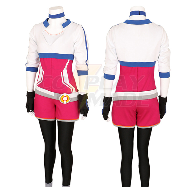 Women\'s Pokemon Go Trainer Team Valor Instinct Mystic Cosplay Costume