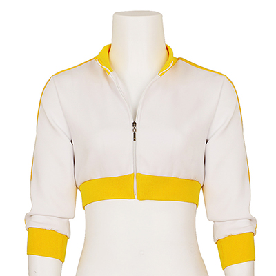 Women's Pokemon Go Trainer White Hoodie Jacket Team Valor Instinct Cosplay Costume