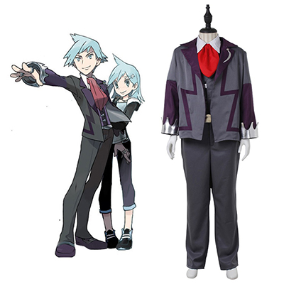 Pocket Monster Steven Stone Cosplay Kostume for men adult Cosplay Kostume