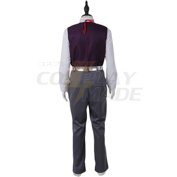 Pocket Monster Steven Stone Cosplay Costume for men adult Cosplay costume