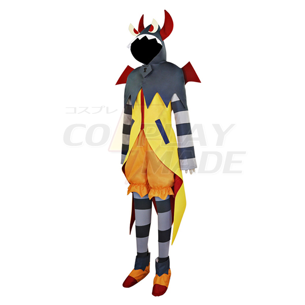 Halloween Go! Princess PreCure Locke Dys Dark Costume Cosplay Outfit