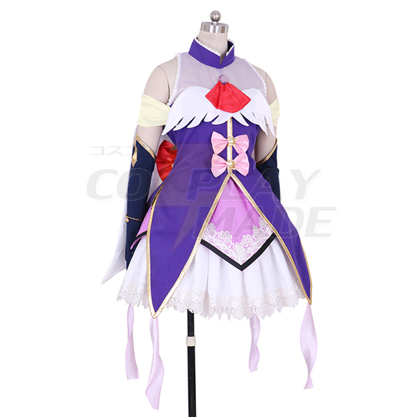Halloween Maho Girls Precure Cure Magical Riko Izayoi Girls Cosplay Outfit