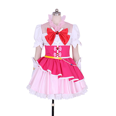 Costume Halloween Maho Girls Precure Cure Miracle Mirai Asahina Girls Déguisement Cosplay Tenues