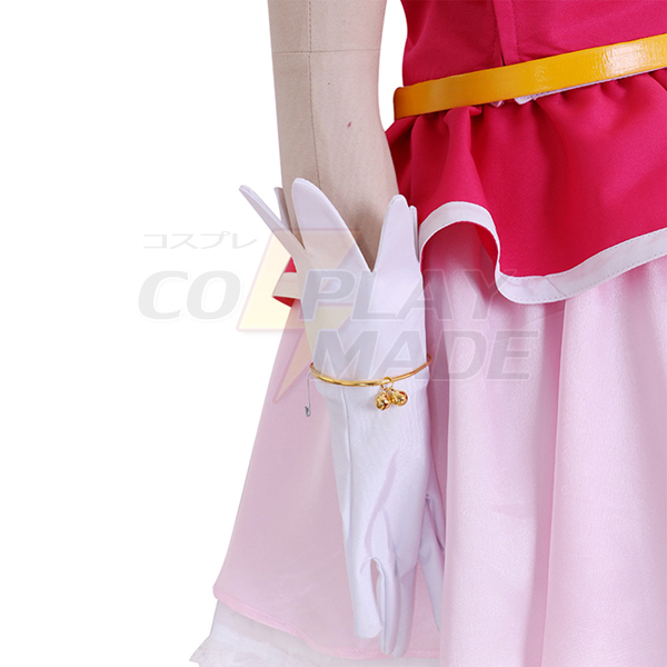 Disfraces Halloween Maho Girls Precure Cure Miracle Mirai Asahina Girls Cosplay Traje