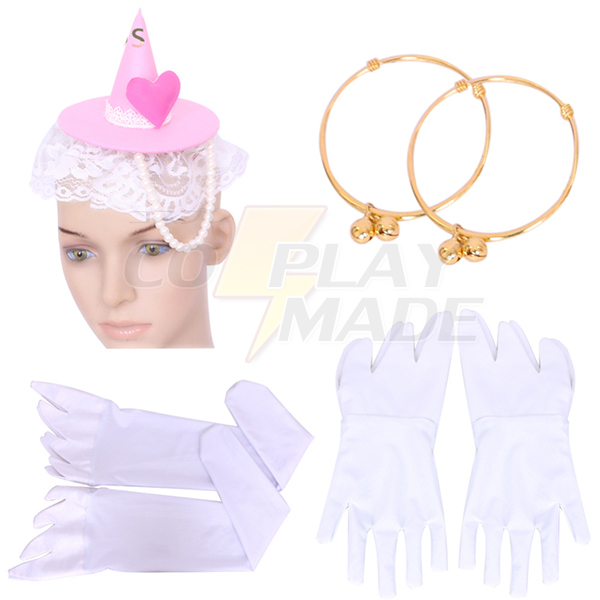 Halloween Maho Girls Precure Cure Miracle Mirai Asahina Girls Costume Cosplay Outfit