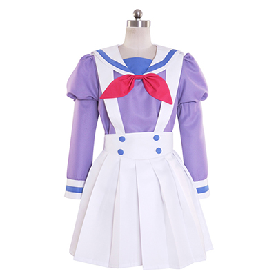 Halloween Go! Princess PreCure Cure Flora Haruka Haruno Uniform Cosplay Costume