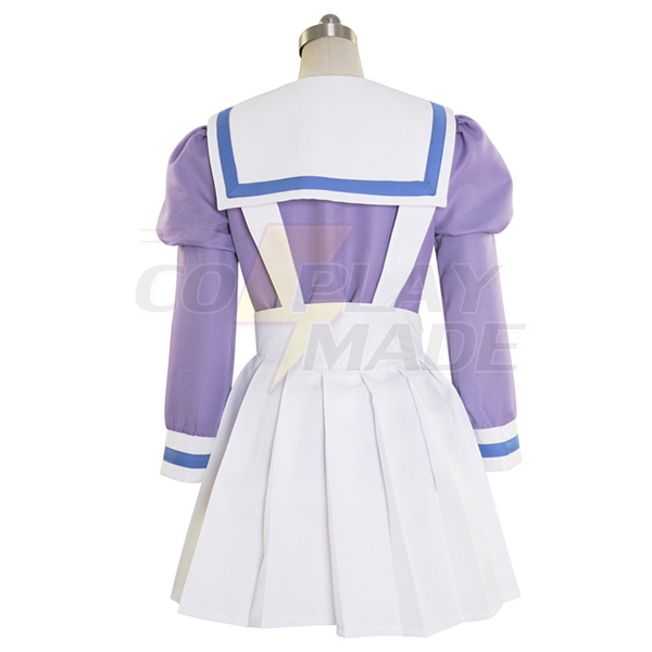 Halloween Go! Princess PreCure Cure Flora Haruka Haruno Uniform Cosplay Costume