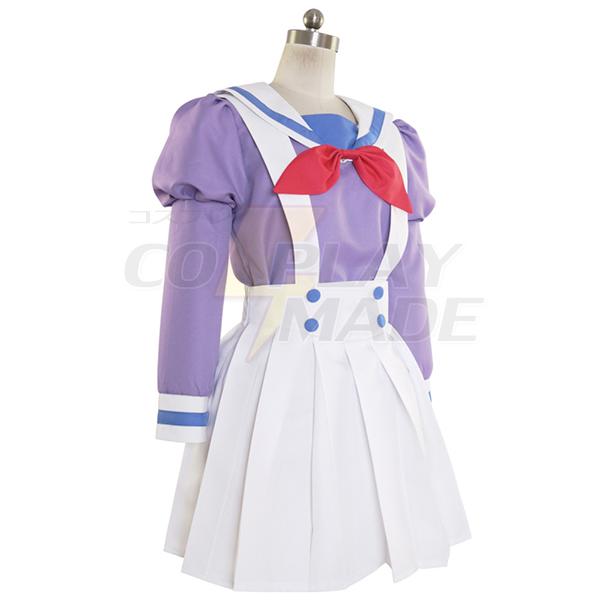 Halloween Go! Princess PreCure Cure Flora Haruka Haruno Uniform Cosplay Kostume