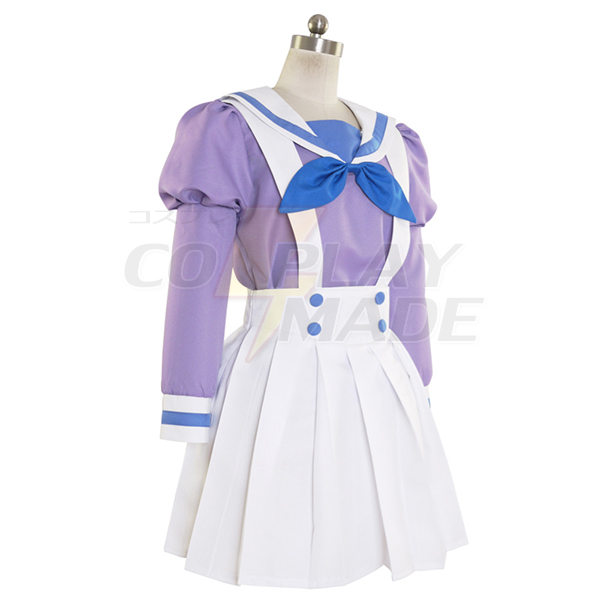 Halloween Go! Princess PreCure Cure Mermaid Minami Kaido Uniform Cosplay Costume