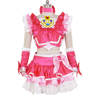 Halloween Women's New Suite PreCure Cure Melody Dress Cosplay Costume