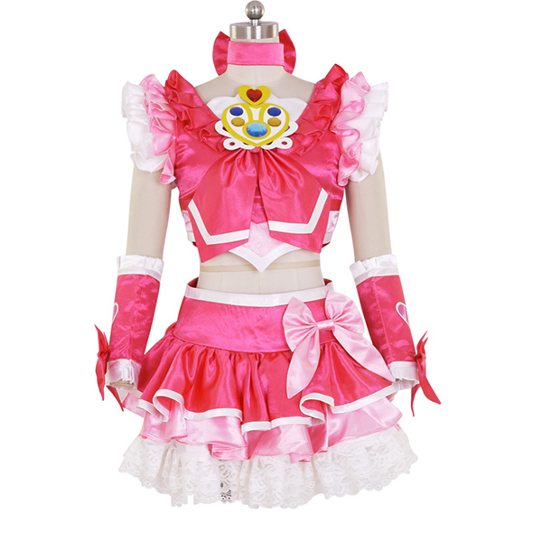 Halloween Women\'s New Suite PreCure Cure Melody Dress Cosplay Costume