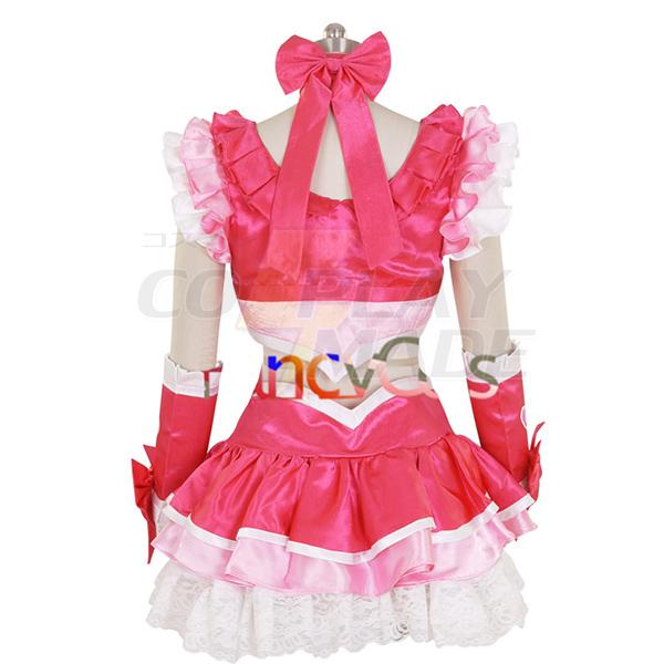 Halloween Női Newe PreCure Cure Melody Ruha Cosplay Jelmez Karnevál Ruhák