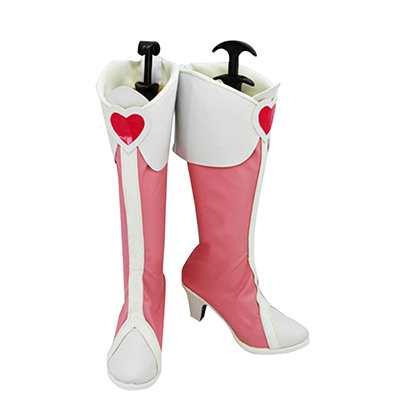 Pretty Cure Cure Heart Cosplay Sapatos Chuteiras Carnaval