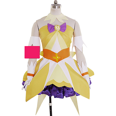Pretty Cure Cure Twinkle Cosplay Kostüm Stage Performence Clothes